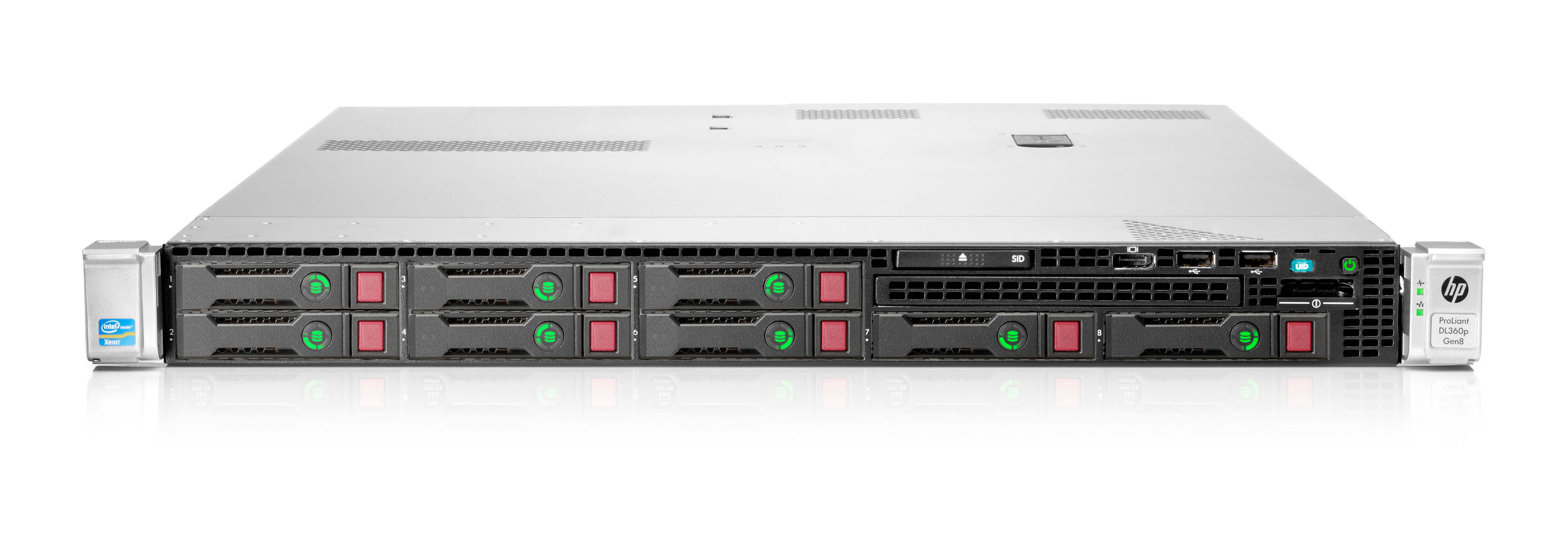 HP Proliant DL360p Gen8 8хSFF