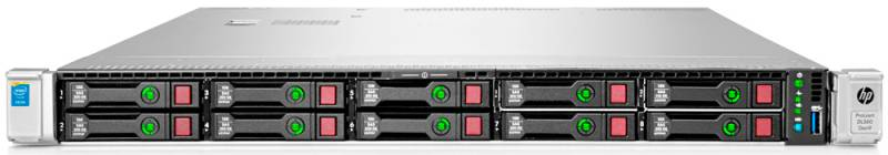 HP Proliant DL360p Gen8 10хSFF