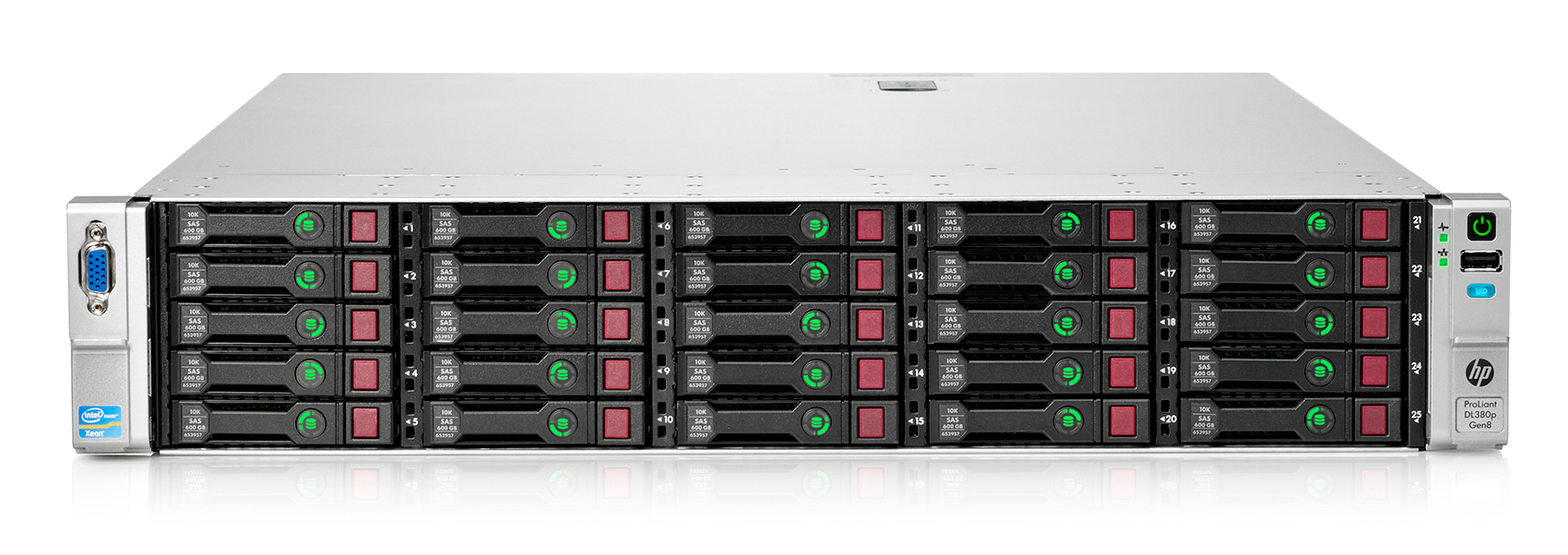 HP Proliant DL380p Gen8 25хSFF